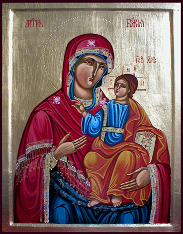 The Virgin Mary icon 3