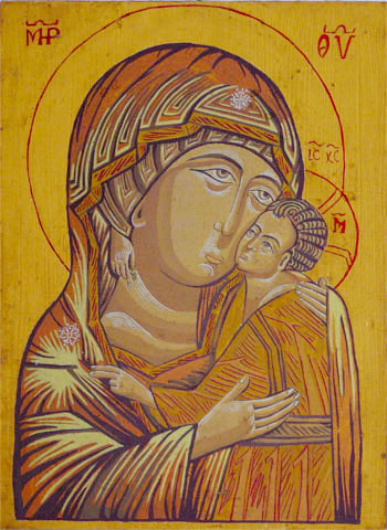 The Virgin Mary icon 6