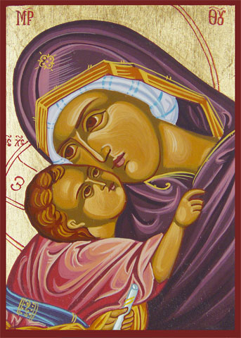 The Virgin Mary icon 9