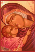 The Virgin Mary icon 2